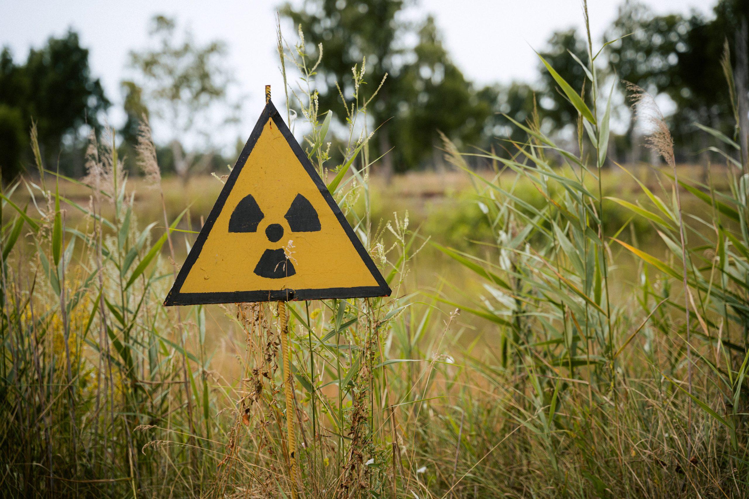 atomveszély tábla